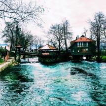 Bihac Restaurants on Una River