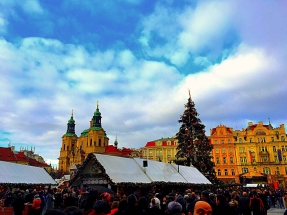 Christmas Market Old Town Sq