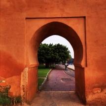 City Wall Entrance Keyhole