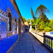 Fronteira Blue Tiles and Pond2