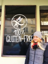 Gluten Free Sign and Kat