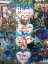 I Love You Prague graffiti