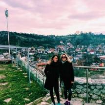 Kara and me in Travnik Fortress
