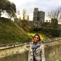 Me outside Windsor Castle