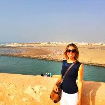 Me overlooking beach