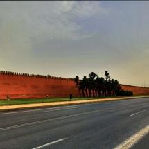 Morning run City Wall