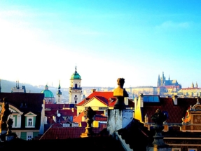 Prague Skyline from Prince Rooftop