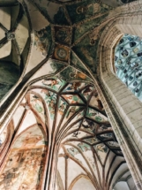 Ribbed Vaulting in the Cisterian Monastery