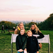 Sally, her kids and me