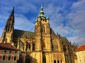 St Vitus under blue skies