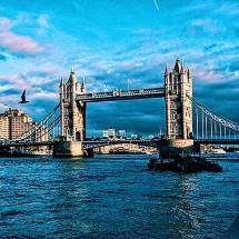 Tower Bridge from shore