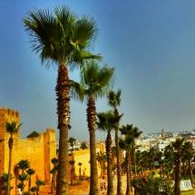 outside medina walls