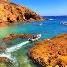 Berlenga Boat in Clear Water