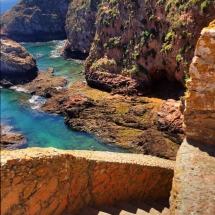 Berlenga Stairwell to fort
