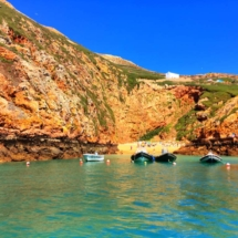 Berlenga main cove from water