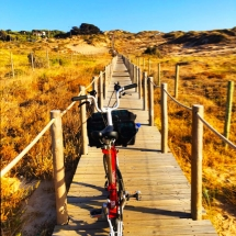 Guincho bike boardwalk