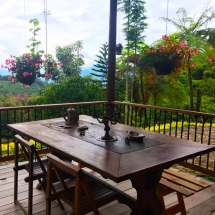 Jardin Deck Table and View