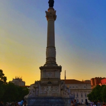Perfect Light Rossio Square Sunset 8.13