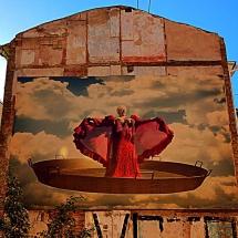 Vinyl Photo Street Art