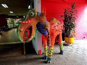 San Juan Mercado mascot