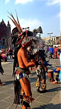 Zocalo dancers sage