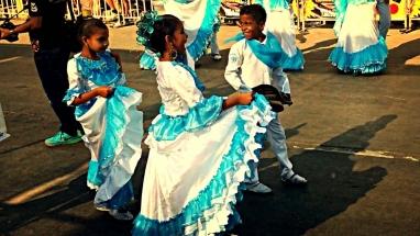 Barranquilla Cumbia Dancers Blue
