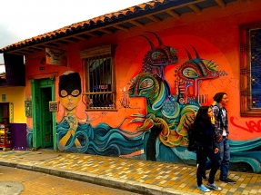 Bogota Street Art Rodez Storefront
