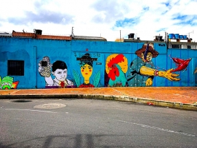 North Bogota Street Art
