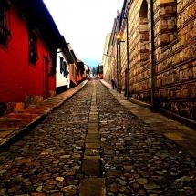 Streets of Bogota Candelaria