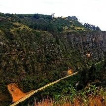 Suesca Rock cliffs