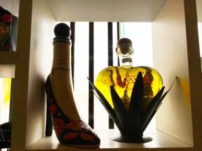 Tequila Museum original bottles