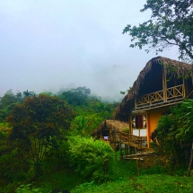 Bamboo Hut in the clouds