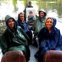 Boat and rain