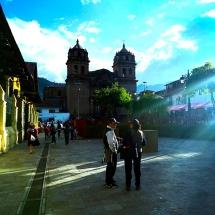 Cusco Plaza and church