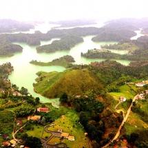 View from El Peñon