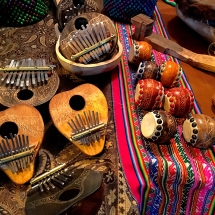 Guemes Art Festival Gourd Instruments