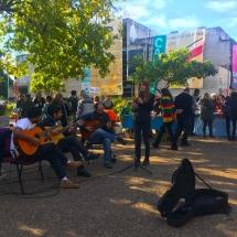 Musicians downtown Cordoba