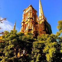 Parroquia Sagrado Corazon de Jesus church steeple