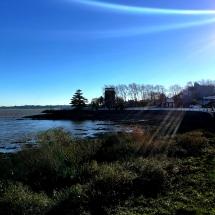 Uruguay's coastline