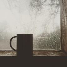 mug in window