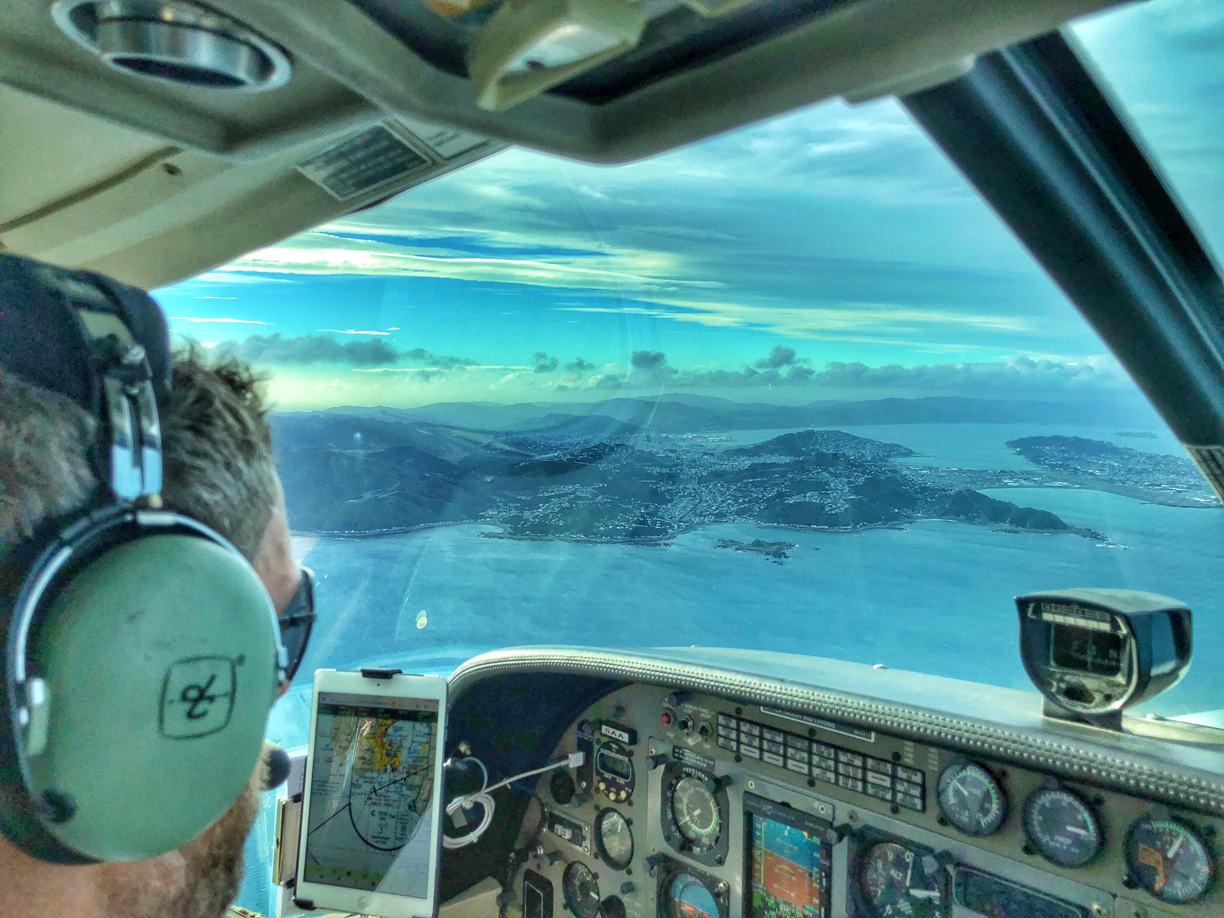 Sound Air Wellington Approach